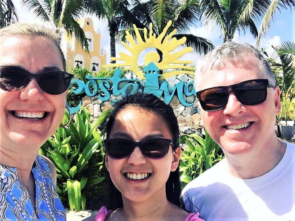 Selfie in Costa Maya