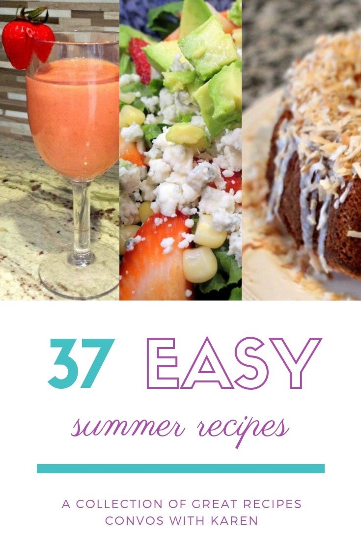 Easy summer recipes mean fresh flavors, quick prep and easy cleanup. For summer parties and holiday picnics, that's a hard combination to beat. Enjoy these 37 recipes from top bloggers, and then, enjoy the party too! #recipes #c2cgroup #summerrecipes #partyrecipes #summerparties #july4th #independenceday