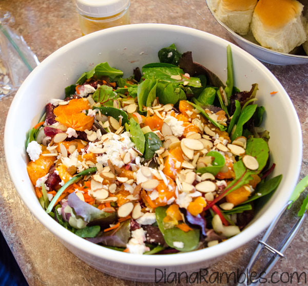 oranges make a bright summer salad party guests will enjoy