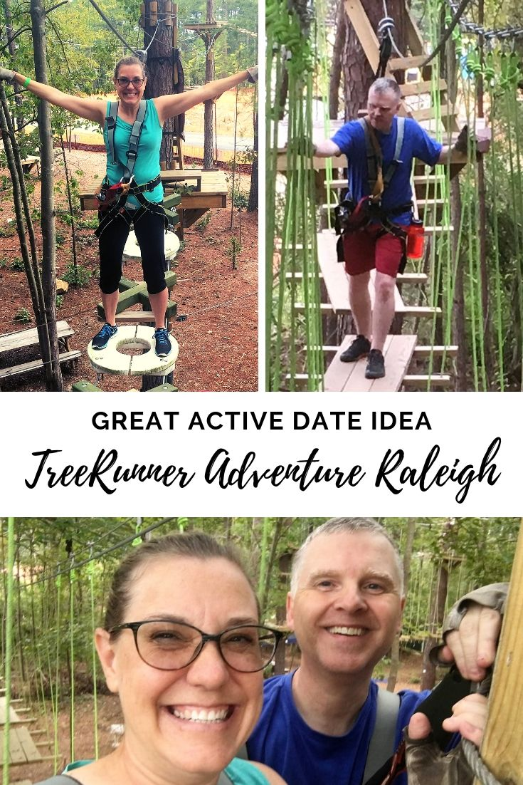 TreeRunner Adventure Park in Raleigh, NC encourages outdoor adventure for kids and adults. With several different courses at varying degrees of difficulty, this is a great place for the whole family. We also highly recommend it as a memorable date -- no matter how long you've been together! #c2cgroup #adventure #Raleigh #Triangle