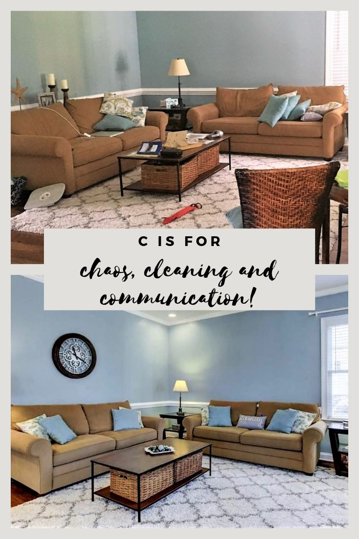 Cleaning the house can be a chore, one that many don't like. But, with communication, a couple can compromise to find a solution. If the chaos at home creates tension, here's a testimonial to communication and compromise. #c2cgroup #marriage #relationships