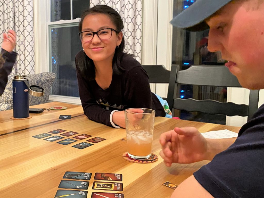 Board games with teens