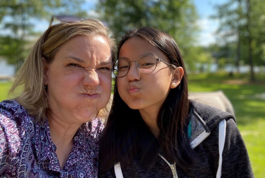 funny faces photo showing our efforts and attitude at persistence and resilience